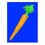 Zanahoria pintada postales