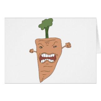 zanahoria tarjeta de felicitación