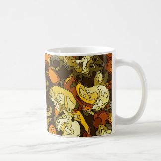 Zanahorias asadas a la parrilla calabacín y plato taza