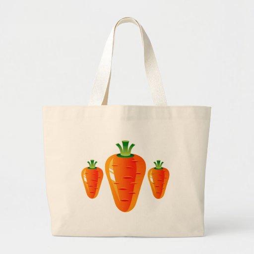 Zanahorias Bolsa Tela Grande