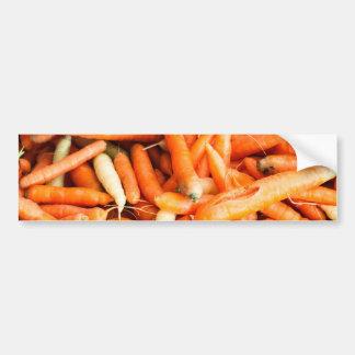 Zanahorias Pegatina De Parachoque