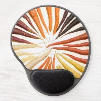 Zanahorias coloridas alfombrilla con gel