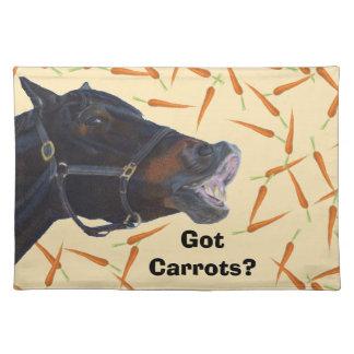 Zanahorias conseguidas lindas americano MoJo Place Mantel Individual
