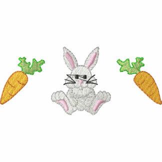 Zanahorias del conejito camiseta polo