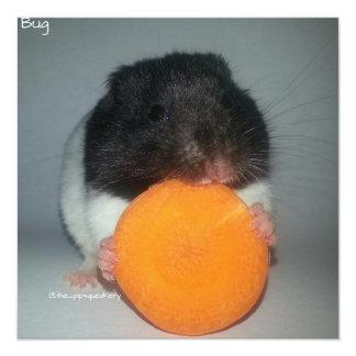 ¡Zanahorias del nom de Nom! Invitaciones Personalizada