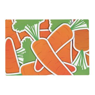 ¡Zanahorias enrrolladas! Salvamanteles