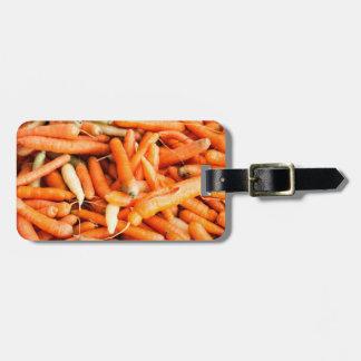 Zanahorias Etiquetas Maletas