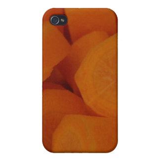 Zanahorias iPhone 4 Fundas