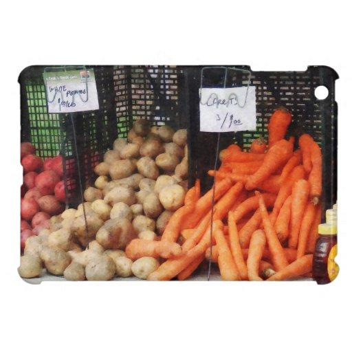 Zanahorias, patatas y miel