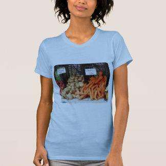 Zanahorias, patatas y miel camisetas