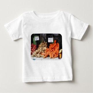 Zanahorias, patatas y miel playera de bebé