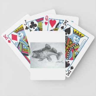 Zander pencil sketch bicycle playing cards