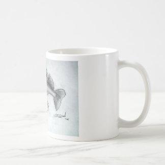 Zander pencil sketch coffee mug