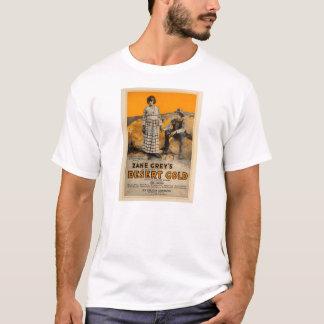 Zane Grey 'Desert Gold' 1919 movie exhibitor ad T-Shirt