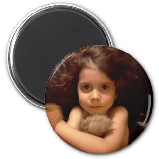 Zane Lawless photo option 1 2 Inch Round Magnet