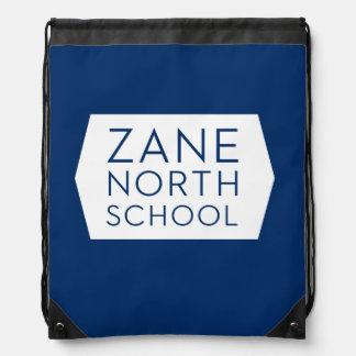 Zane North Navy Cinch Backpack