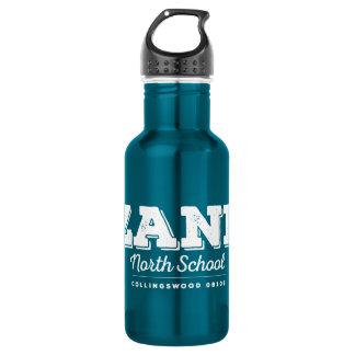 Zane North School Aluminum Stainless Steel Water Bottle