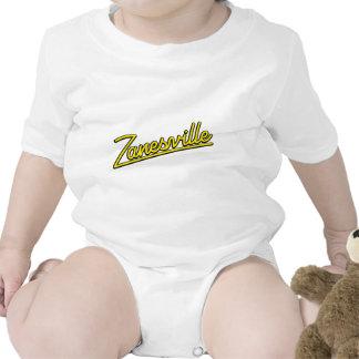 Zanesville en amarillo trajes de bebé