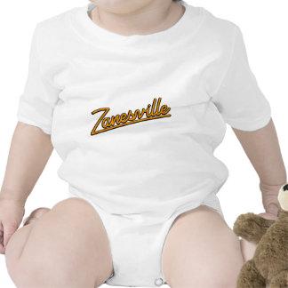 Zanesville en naranja trajes de bebé