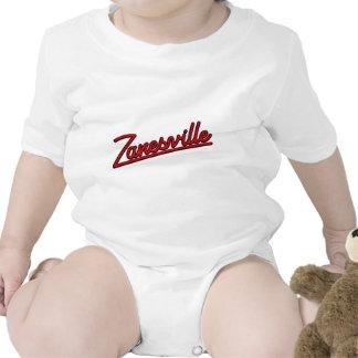 Zanesville en rojo trajes de bebé