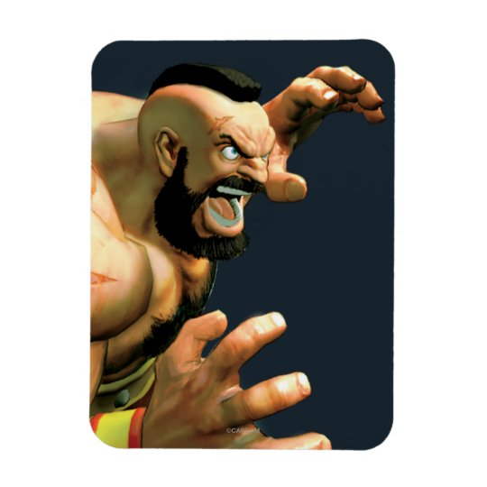 Zangief Ready to Grab Magnet