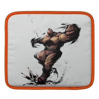 Zangief Spin Sleeves For iPads