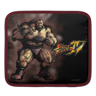 Zangief Stance Sleeves For iPads