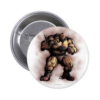 Zangief Stance Pinback Button