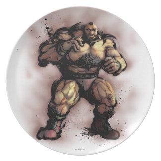 Zangief Stance Party Plate