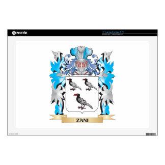 Zani Coat of Arms - Family Crest Laptop Skins