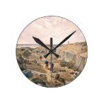 Zanja del bastión du Mat, placa 'de Seat Reloj Redondo Mediano