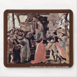 Zanobi Altar Of The Adoration Of The Magi, With Mouse Pad