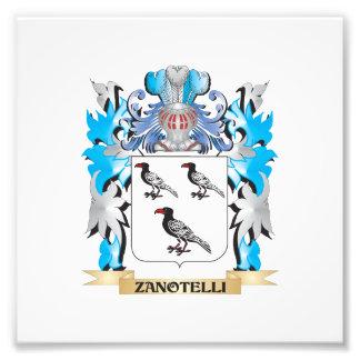 Zanotelli Coat of Arms - Family Crest Photo Art