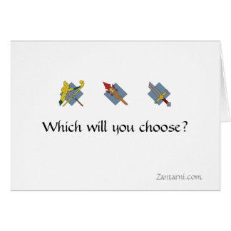 Zantarni Class Choice Cards