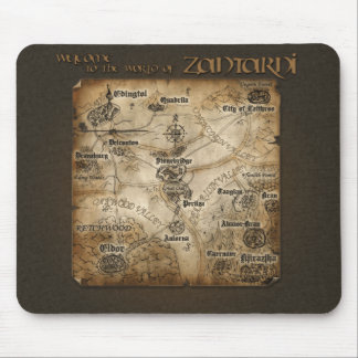 Zantarni Map Mousepad