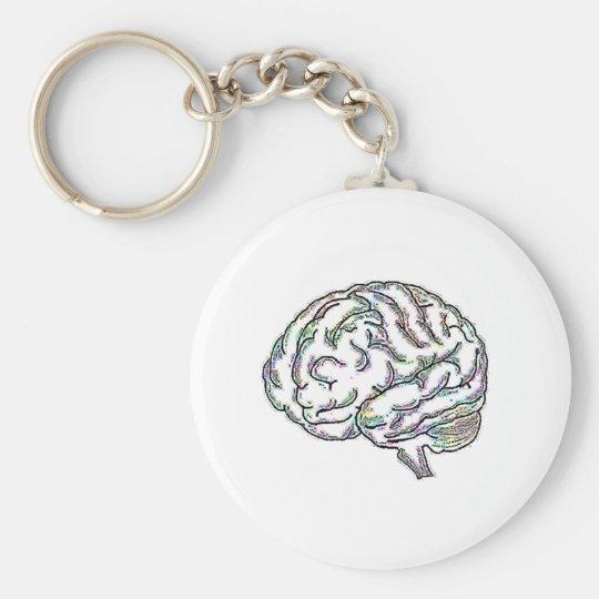 Zany Brainy Keychain