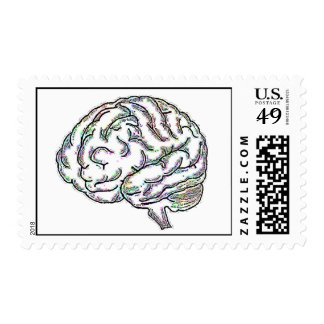 Zany Brainy Postage Stamps