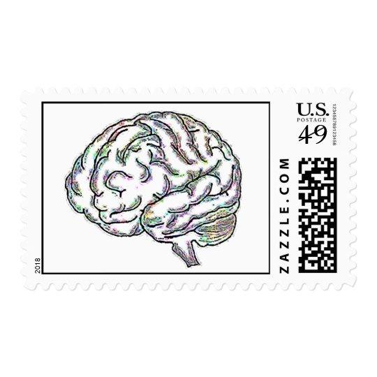 Zany Brainy Postage Stamp