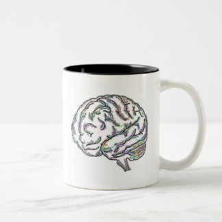 Zany Brainy Two-Tone Coffee Mug