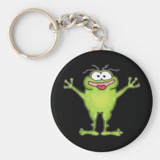 Zany Frog Keychain