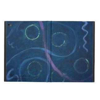 Zany Pastel Chalk Crayon Doodle Blue Powis iPad Air 2 Case