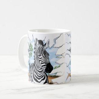 Zany Zebra Coffee Mug