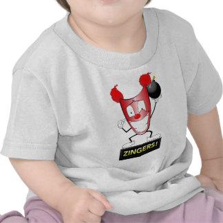 Zany Zinger society6 jpg Tee Shirts