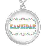 Zanzíbar en el arco iris de Flores Pendientes