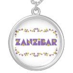 Zanzíbar en la púrpura de Flores Joyeria