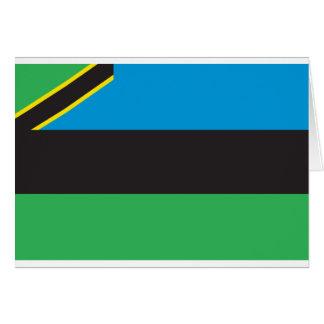 Zanzibar Flag Card