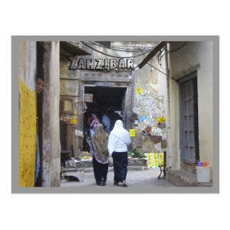 Zanzibar Post Card