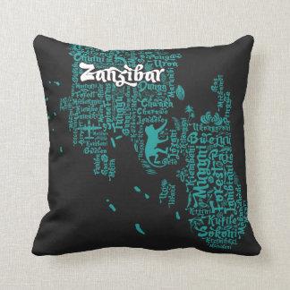 Zanzibar Throw Pillows : Zanzibar Gifts on Zazzle