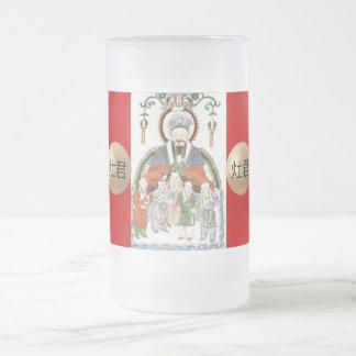 Zao Jun Chinese kitchen god mug