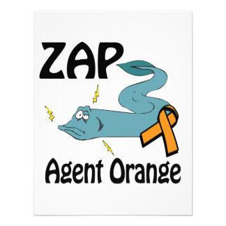ZAP Agent Orange Invitación